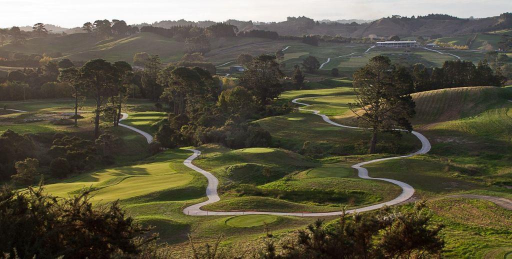 Wainui Golf Club, Wainui, Auckland, NZ.