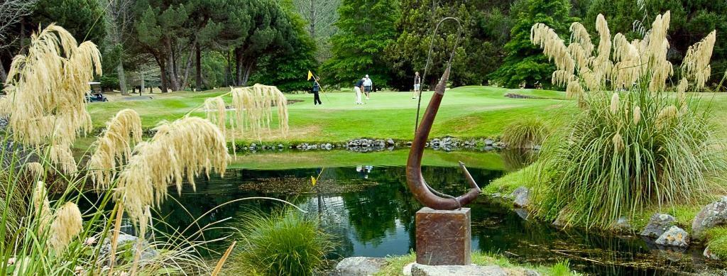Wairakei Golf & Sanctuary, Taupo, NZ.