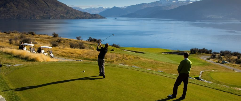 Jacks Point Golf Course, Queenstown, NZ.