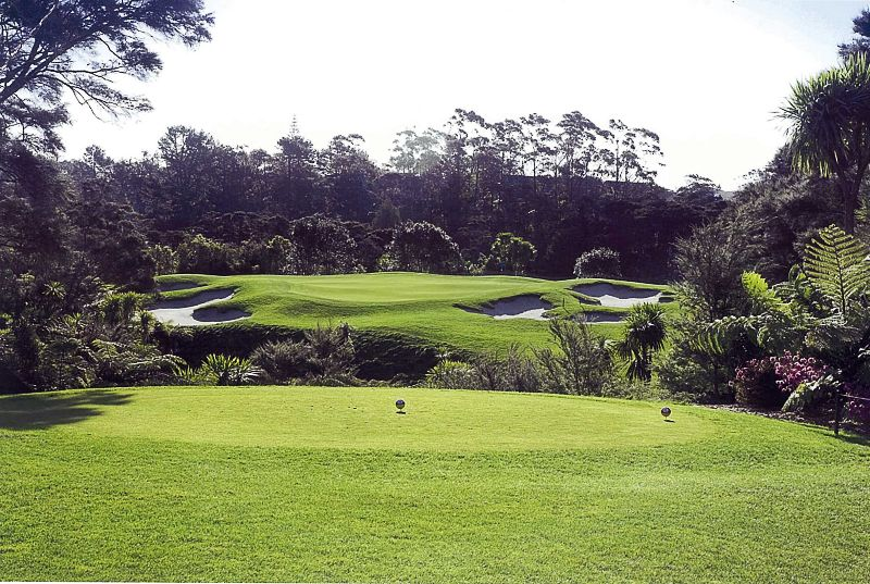 Titirangi Golf Club, New Lynn, Auckland, NZ.