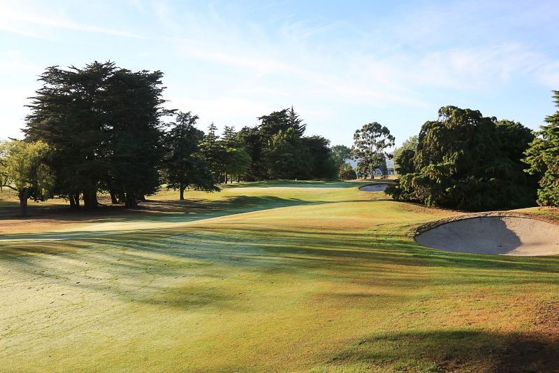 Christchurch Golf Club, NZ.